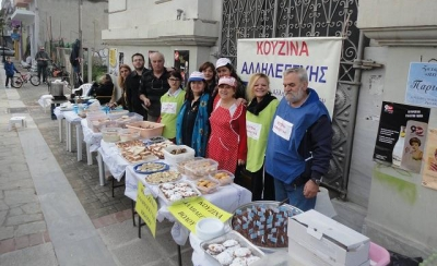 Antopack makes a donation to the Volos Solidarity Kitchen at Christmas 2016